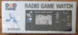 Pop Game Radio Game Watch BARRIER