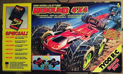 tyco rebound 4x4 RC 1994
