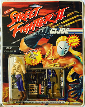 g.i. joe street figher II vega moc new