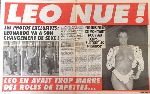 Infos du monde leonardo di caprio naked nu