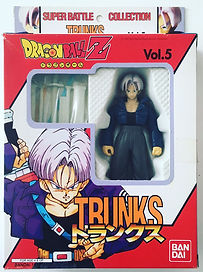 Super Battle Collection Vol.5 Mirai Trunks Dragonball Z Trunks Bandai Japan 1998 NEW