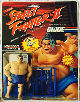 G.I. joe street fighter II edmond Honda moc