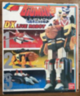 BIOMAN 3 Liveman Robot Live DX FR