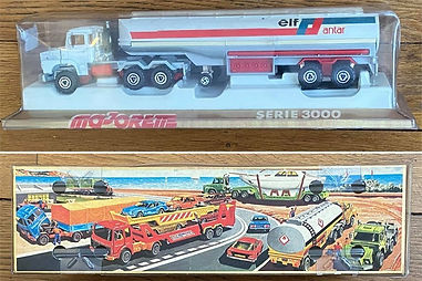 MAJORETTE Camion elf serie 3000 antar neuf