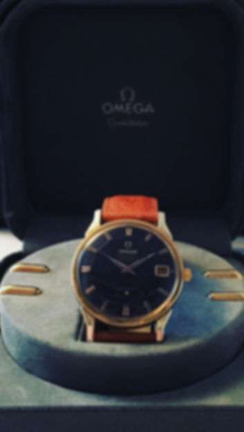 Omega Constellation Pie Pan Black Cal.564