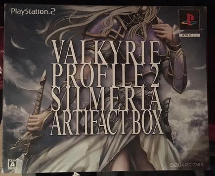 valkyrie profile 2 silmeria artifact box japan ps2 playstation 2