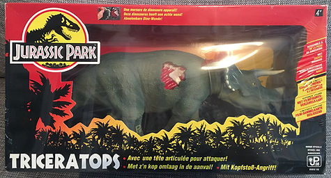 jurassic park Tricératops france 1993