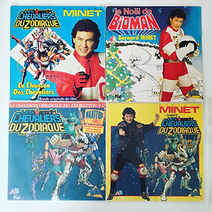 Vinyl bioman les chevaliers du zodiaque saint seiya