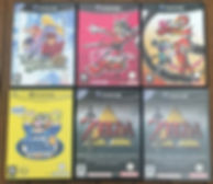Nintendo GameCube Zelda Collector promo Viewtiful Joe Tales of Symphonia Wario