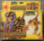 Saint Seiya Chevaliers du zodiaque gold or scorpion milo bandai france vintage made in Japan