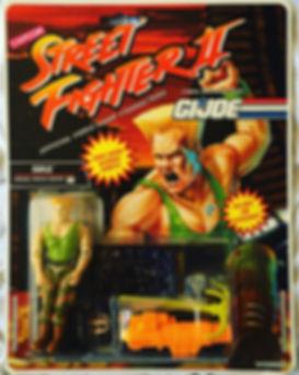 gi joe street fighter II guile new moc