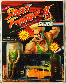gi joe street fighter II guile new moc