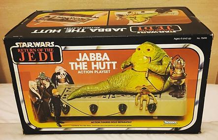 Star Wars ROTJ Jabba the Hutt boxed 1983