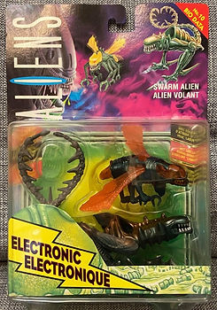 Alien swarm alien kenner carte euro electronic action figure