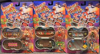 World Fighter toys Street Fighter II mini scene Mighty Max
