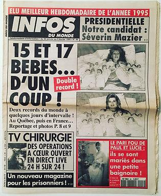 infos du monde 1994 n°46