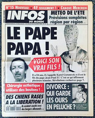 infos du monde 1994 n°15
