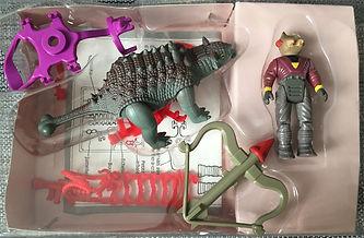Dino Riders série 1 IDEAL Ankylosaure