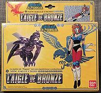 saint seiya chevaliers du zodiaque marine aigle de bronze bandai france 1988