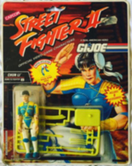 G.I. Joe street fighter II Chun Li moc new