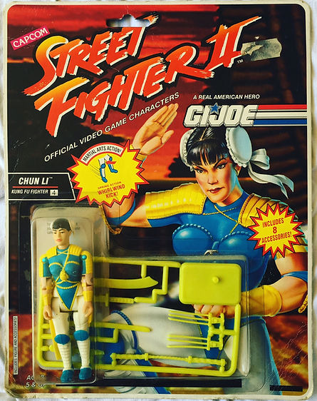 G.I. Joe street fighter II Chun Li moc new