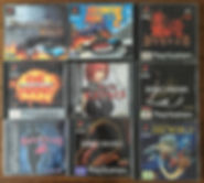 PS1 jeux collection diablo dino crisis discworld