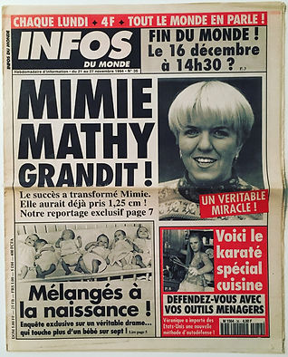 infos du monde 1994 n°36