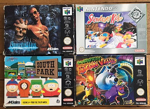 south park snowboard kids 2 n64 nintendo 64 shadowman spacestation