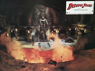 Indiana Jones et le temple maudit lobby card