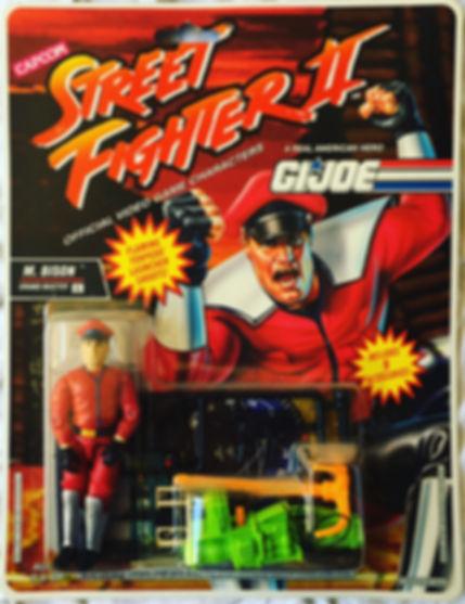 G.I. joe street Fighter II M. bison moc new