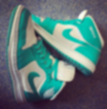 Air Jordan Custom Nke ID Emerald