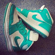 Air Jordan Custom Nke ID Emerald