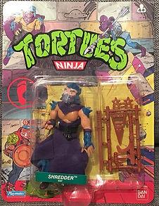 TMNT Tortues Ninja shredder 10 back playmates 1990 NEUF MOC