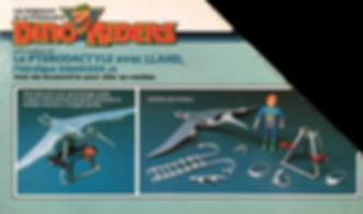 Dino Riders série1 IDEAL FR Ptérodactyle
