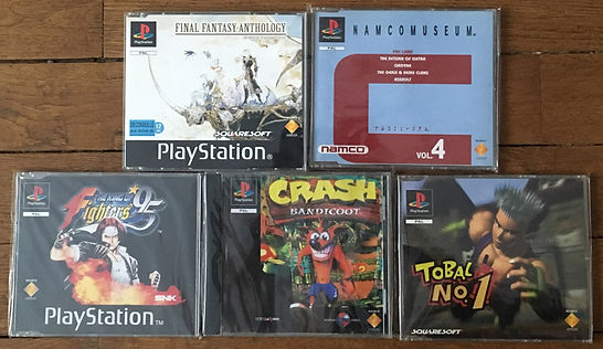PS1 not for resale PAL