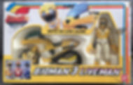 BIOMAN 3 Liveman Moto Lion Jaune FR