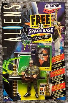 Alien aliens kenner carte euro space marine BISHOP action figure