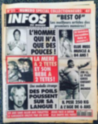 infos du monde 1994 n°21