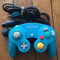 Manette GameCube Game Cube jade nintendo controller