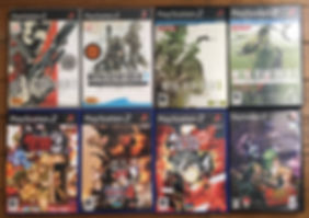 MGS metal gear solid 2 3 substance subsistence metal slug 4 5 6 ps2 playstation