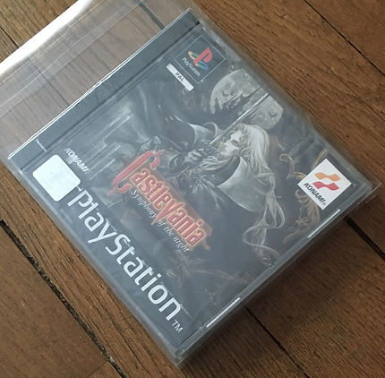 Castlevania Symphony of the Night SOTN PAL sealed blister PS1 brand new