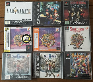 Suikoden 2 Chrono Cross Pandemonium FF9 sealed blister PS1 brand new