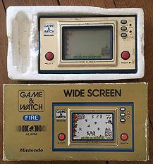 Game & Watch Wide Screen Fire