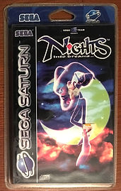 Nights into dreams Saturn PAL blister rigide neuf sealed