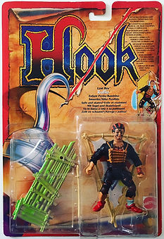 Hook Mattel Peter Pan toys jouets