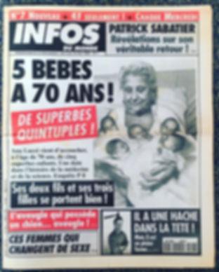 infos du monde 1994 n°7