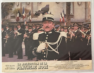 Pink Panthere lobby card
