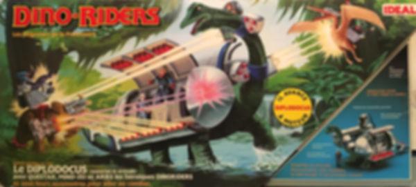 dino riders diplodocus ideal france