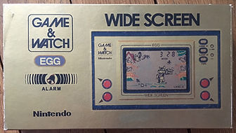 Game & Watch Wide Screen EGG