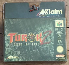 turok 2 seeds of evil n64 acclaim nintendo 64 blister rigide neuf new sealed